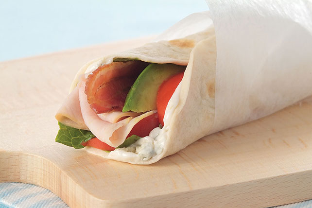 Turkey Cobb Wraps Image 1