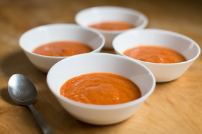 Tomato Soup with Chipotle Peppers