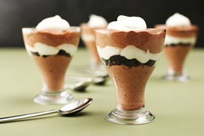 Mocha Pudding Parfaits
