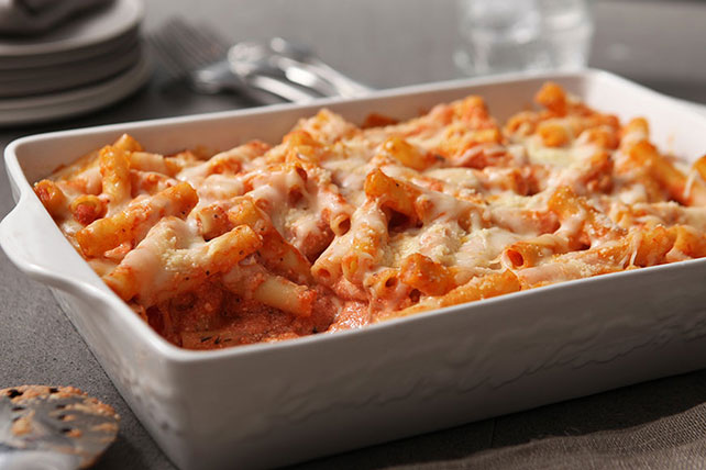 Baked Ziti Dinner Menu