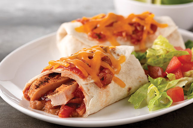 Chicken Burrito Recipe Image 1