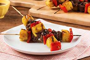Teriyaki Steak Skewers