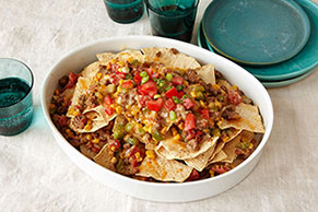 Cheesy Nacho Bake Image 1