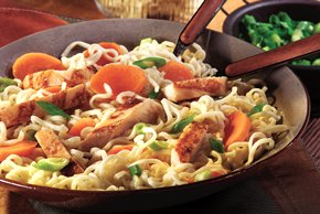 Asian Chicken 'N Noodles