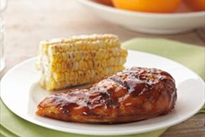 Citrus Barbecued Chicken Breasts
