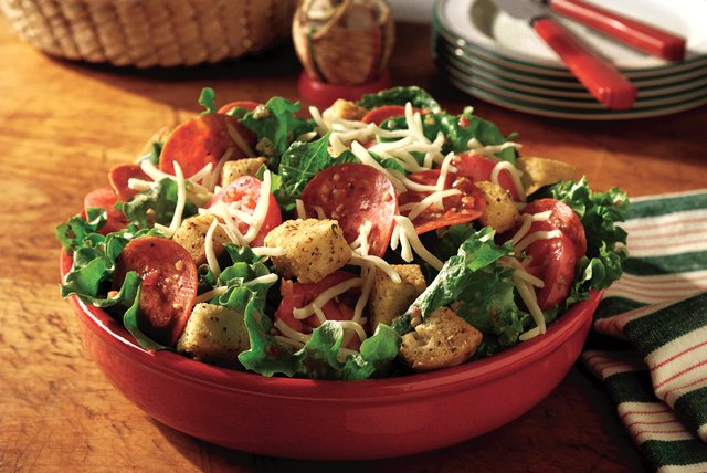 Top Your Own! Pizza Salad Image 1