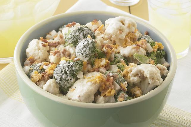 Broccoli and Cauliflower Salad Image 1
