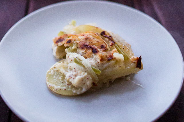 Country-Style Potatoes Au Gratin