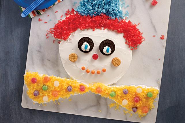 Birthday Clown Cake Image 1