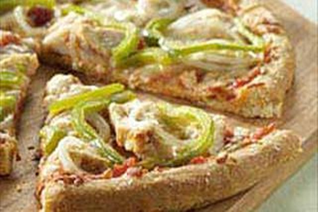 Chicken Parmesan Pizza Image 1