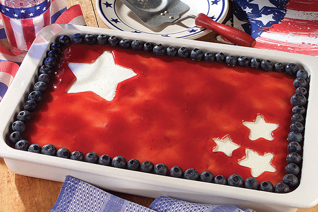 Fourth of July Cheesecake Image 1