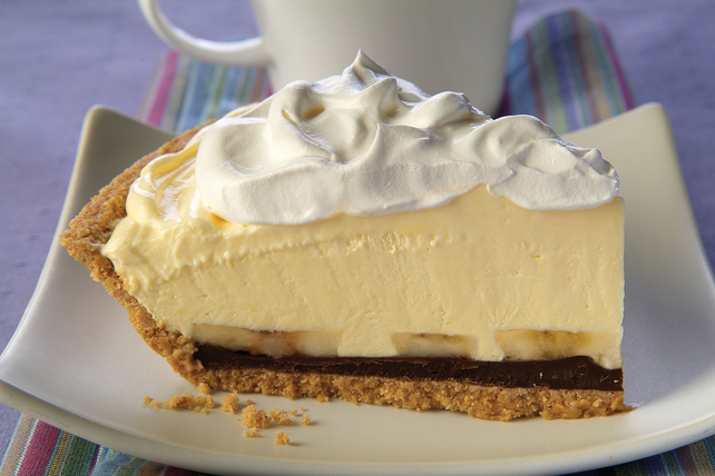 Creamy Banana-Chocolate Pie Image 1