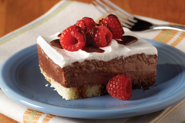 Low-Fat Chocolate-Berry Dessert Image 1