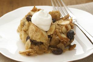 Dessert croustillant aux pommes