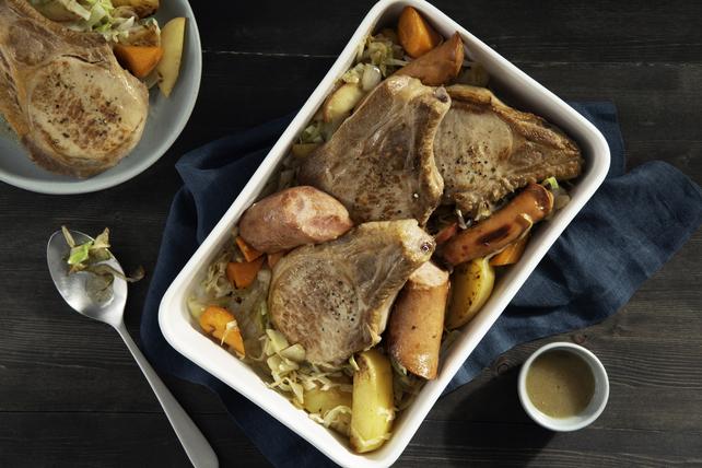 Recette facile de casserole de porc braisé Image 1
