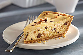 PHILADELPHIA 3-STEP Toffee Crunch Cheesecake