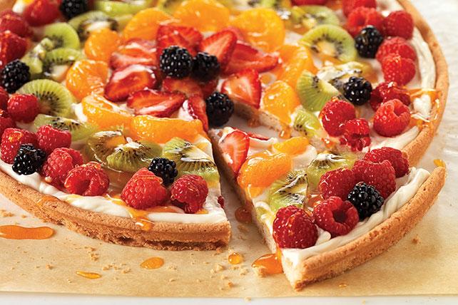 Pizza PHILADELPHIA con frutas Image 1