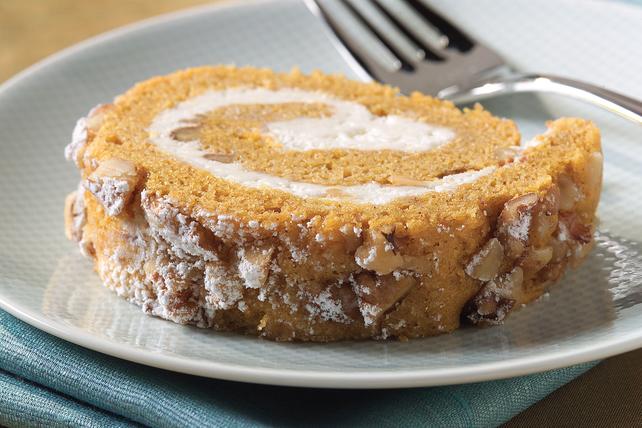 Gâteau roulé aux épices pour tarte à la citrouille Image 1