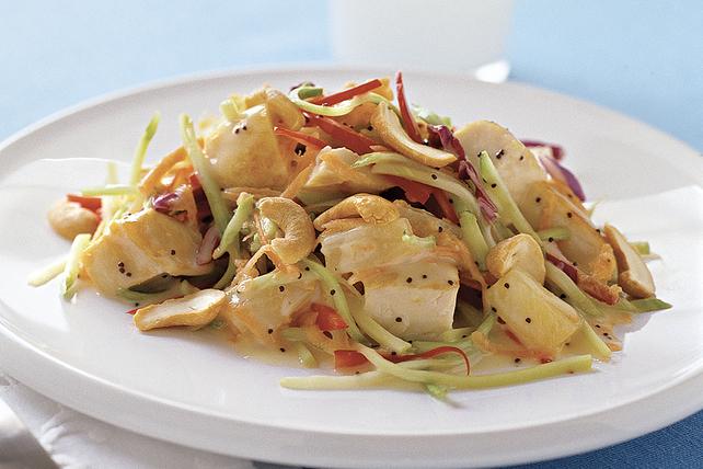 Salade croquante au poulet et aux graines de pavot Image 1