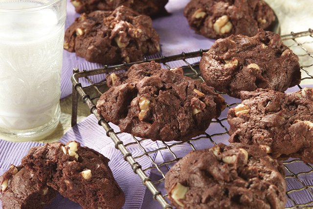 Chocolate Brownie Cookies Image 1