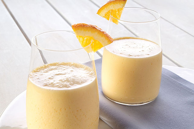 Creamy Orange Smoothie Image 1