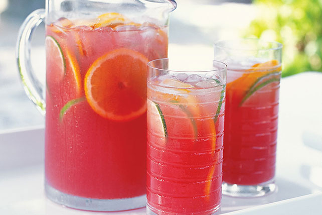 Raspberry-Orange Sangria Punch Image 1