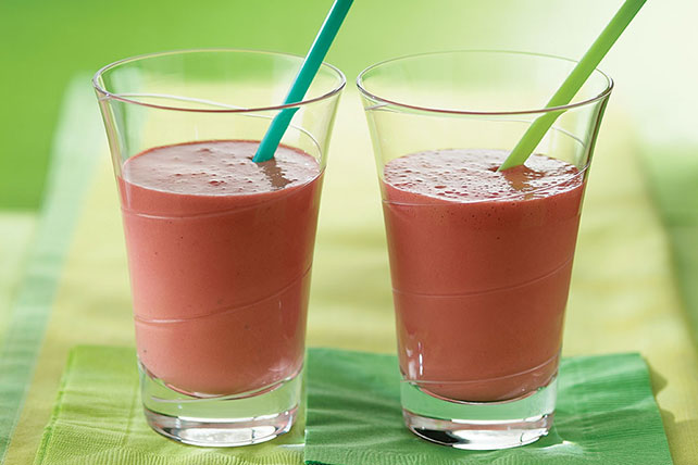 Strawberry Banana Frappe Image 1