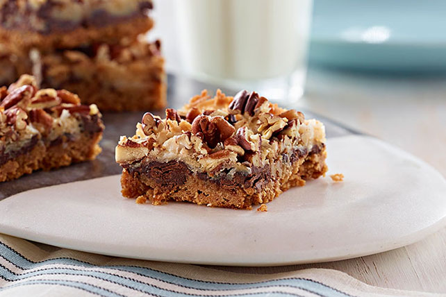 Magic Cookie Bars with Chocolate Chunks Image 1