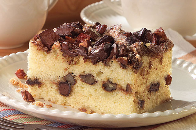 Chocolate Chunk-Cinnamon Coffee Cake Recipe Image 1