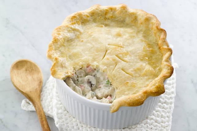 Creamy PHILLY Chicken Pot Pie Image 1