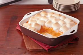 Baked Sweet Potato  Recipe with Marshmallows