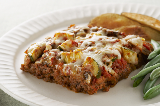 Easy Layered Italian Meatloaf Image 1