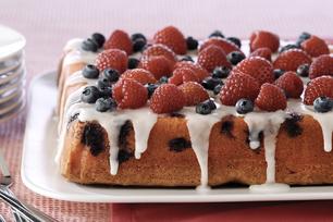 Mixed-Berry Pound Cake