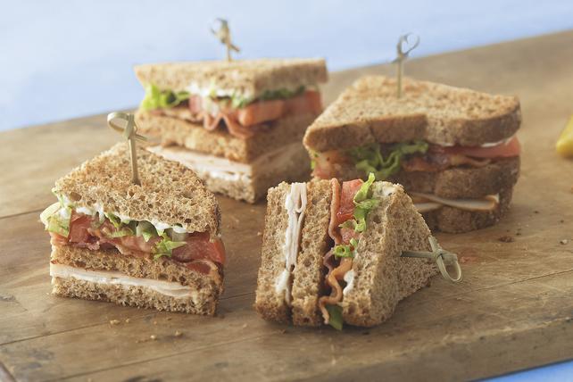 Sandwich club éclair Image 1