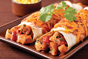 Cheesy Chicken Enchilada Dinner Image 1