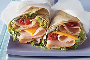 Tex-Mex Turkey Wraps
