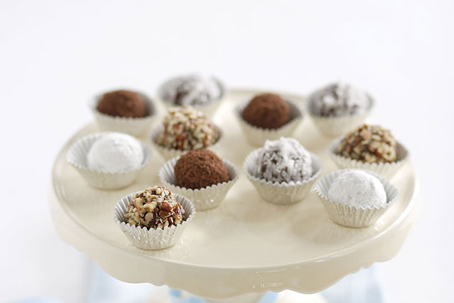 Chocolate-Peanut Butter Truffles Image 1