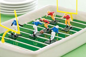 Football Field Gelatin