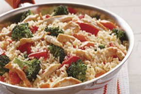 Italian-Style Chicken & Rice with Vegetables