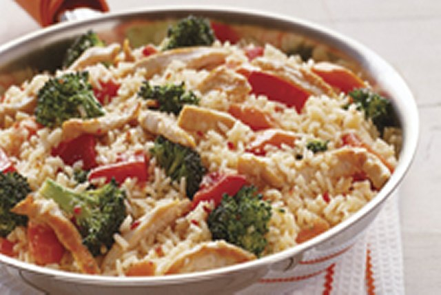 15-Minute Italian Chicken & Rice with Vegetables Image 1