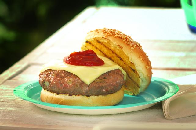 Easy Pizza Burger Recipe Image 1