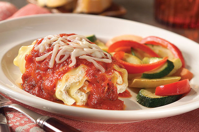 Chicken Lasagna Roll-Ups Image 1