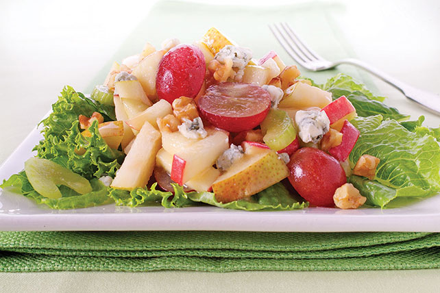 Maple Country Apple Salad with Dijon Vinaigrette