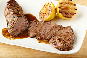 Zesty Lemon-Glazed Steak