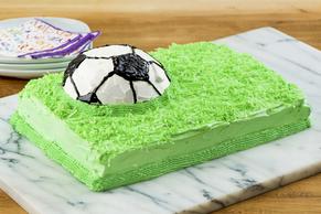 Championship Soccer Ball Cake