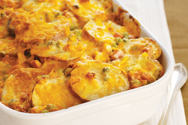 Easy Scalloped Potatoes with Cheese Image 1