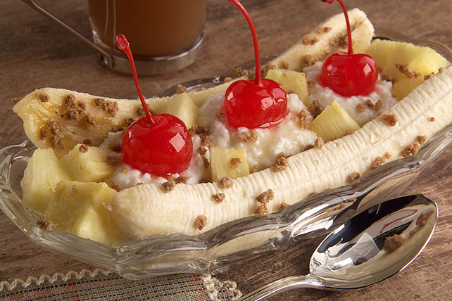 Breakfast Banana Split Image 1