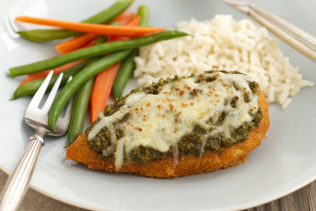 Crispy Baked Pesto Chicken Image 1