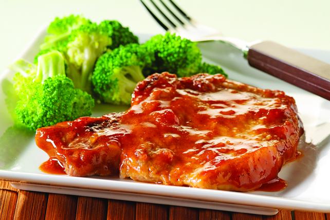 Côtelettes de porc en sauce au four Image 1
