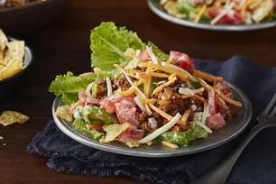 Salade taco éclair